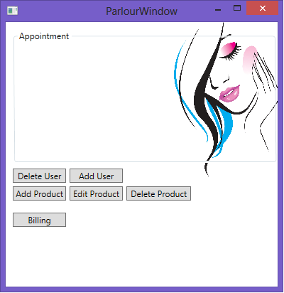 beauty-parlour-management-system-main-window